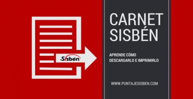 Carnet Sisbén